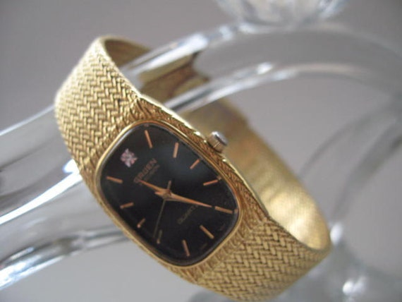 Gold Tone Watches Watch With Gold Tone Band
