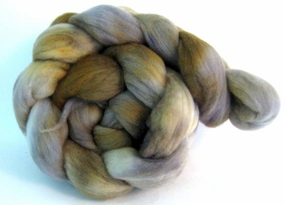 SALE - Merino Wool Combed Top/Roving - Haymitch (Hunger Games inspired) - approx. 4 oz