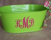 Personalized Oval Tin