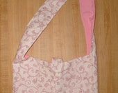 RESERVED-- Pretty in Pink Shoulder Bag --RESERVED