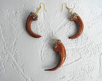 Eagle Talons Made From Velvet Mesquite