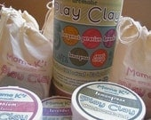 Gluten-Free Playdough - 100% Natural Mama K's Aromatic Play Clay Tube of 5 4 oz. tubs