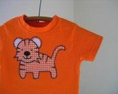 Boy's Orange Tiger T-Shirt