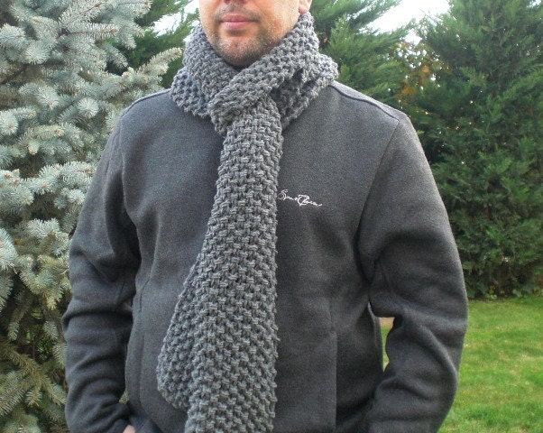 Digital Scarf Knitting PATTERN PDF for Beginners