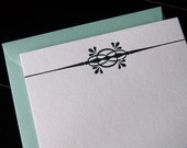 Letterpres Notecards (Set of 10)