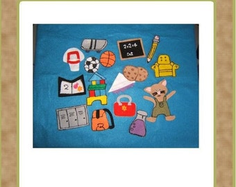 If you Take a Mouse to School -Felt Set -Teacher Resources