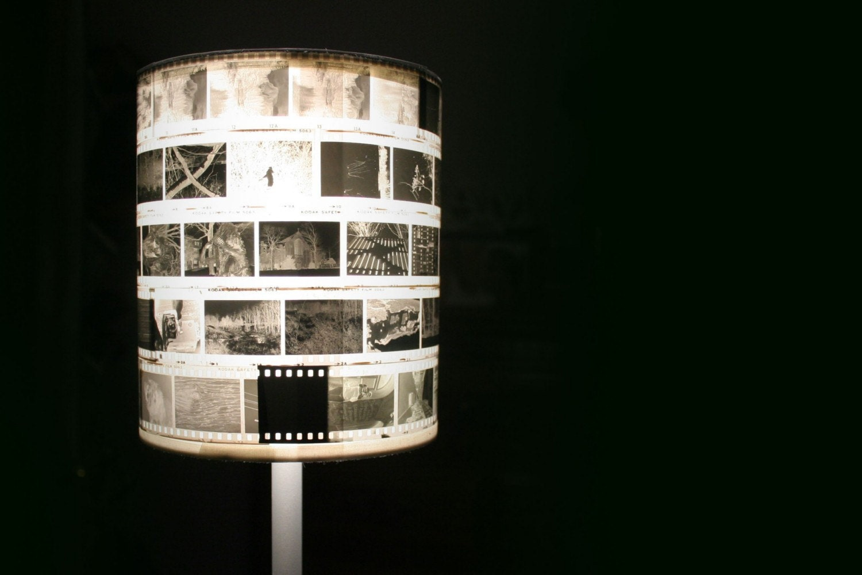 Film Negative Lamp Shade