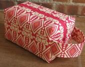 Pink Pomegranate Box Bag