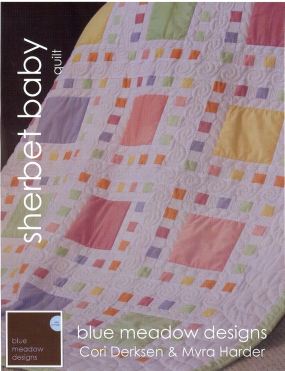 Items Similar To Sherbet Baby Quilt Pattern On Etsy