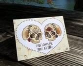 Mi amor, Mi Vida (5x7 card)