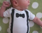 Bowtie Baby Onesie