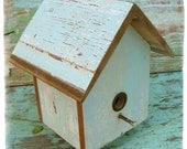 Floating Pastel Birdhouse