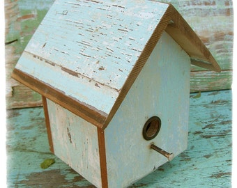 Floating Pastel Birdhouse