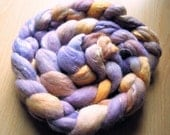 SS Merino\/Tencel Wool Tops - 'African Violet' - 100g