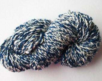 Handspun pure merino  bulky thick and thin  2 ply Art Yarn
