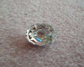 14x10mm Oval Swarovski Crystal Point Back Cabochon