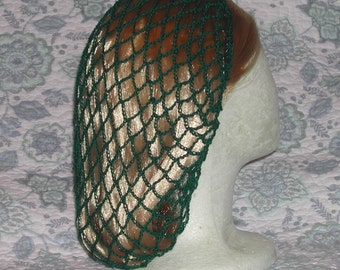 Forest Green Snood Hair Net