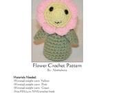 PDF Pattern- Crochet Amigurumi Flower