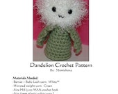 PDF Pattern- Crochet Amigurumi Dandelion