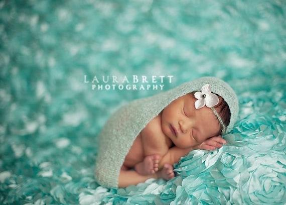 Silk and Sparkles Headband - newborn photo prop