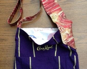 Crown Royal Bag Necktie Purse