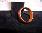 ON SALE WM Copper Ring Size 8.25