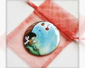 UNDER The OLD APPLE Tree - Round Magnet