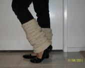 Crocheted Leg Warmers....... FREE SHIPPING USA