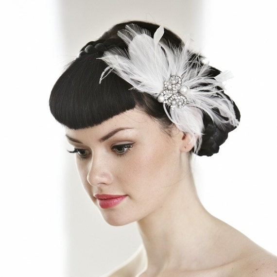 vintage style hair accessories vintage inspired wedding hair accessory wedding hairpiece 3068