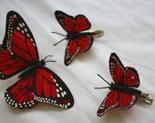 Monarch Butterflies Decorative Clip - Accessories - Spring Season, small gift idea