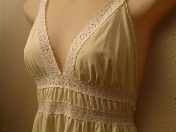Let the Sun Shine In - Yellow Slip Dress