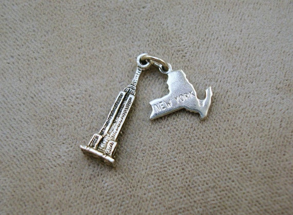 Vintage Empire State Building New York Charm