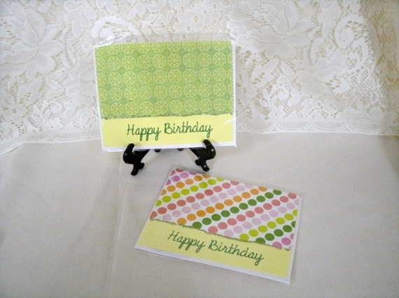 Two Handmade Birthday Cards (3554x2) Benefits the National Ovarian Cancer Coalition