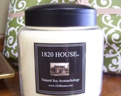 Natural Soy Aromachology 16 oz Apothecary Jar Candle by 1820 House