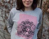 SALE Medusa Behind Bars sweatshirt S,M