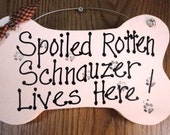 Schnauzer sign, dog gift, pet lover sign,