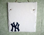 NY Yankees, New York Yankee, custom sign, sports, house of Ruth, welcome personalize, address, name greeting