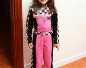 BARBIE Racing DREAM Suit Custom Made Birthday Costume Halloween