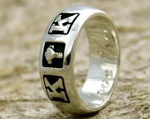Order Your Custom Sterling Silver Romeo and Juliet Ring - Reserved for SABRINA