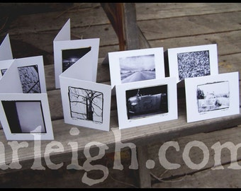 The Solemn Set - Blank Photo Note Cards, set of 8