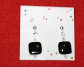 Black Onyx Dangle Earrings