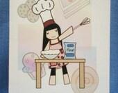 Little Chef - Blank Card