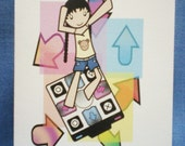 Dance Dance - Blank Card