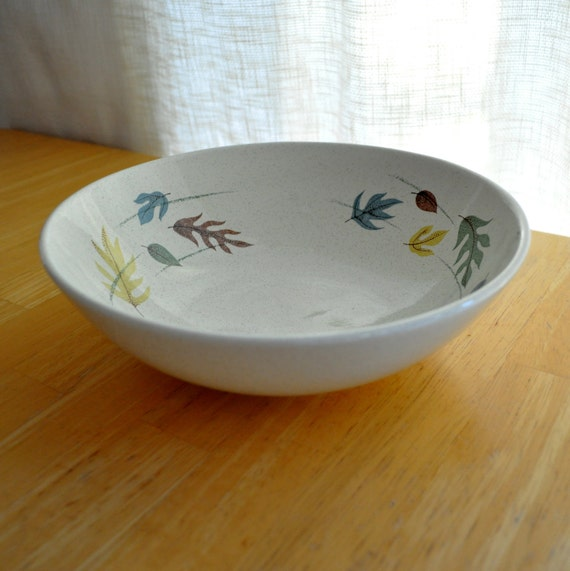 SALE - franciscan autumn serving bowl