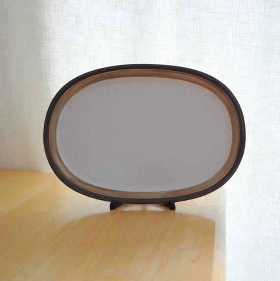 DINNERWARE SALE - ben seibel for mikasa potters art buckskin large platter