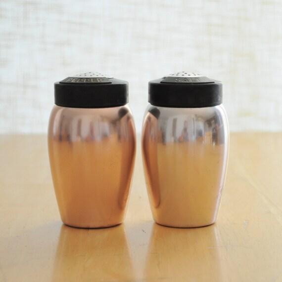 kromex salt and pepper shakers
