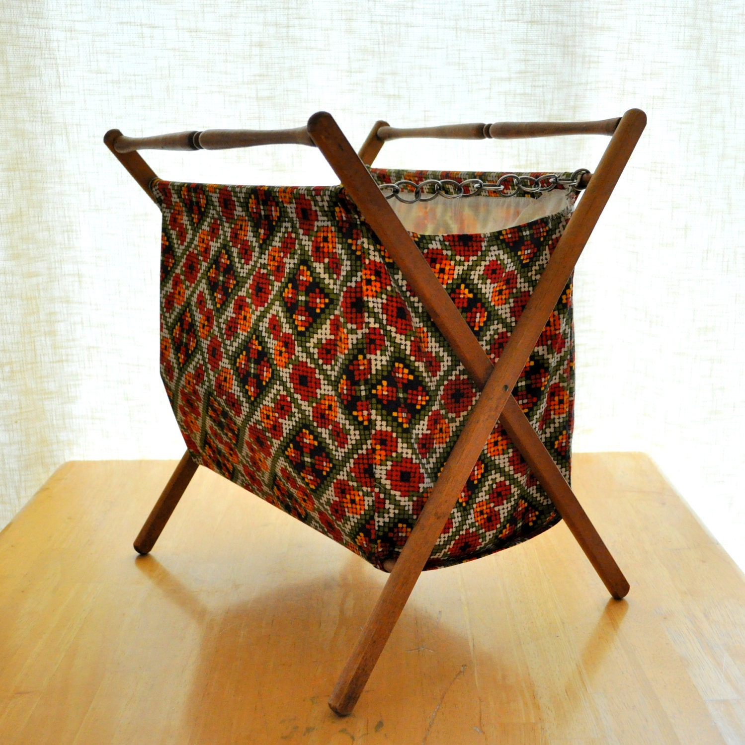 Vintage Knitting Basket 17