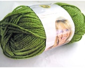 Vanna's Choice Yarn, Lion Brand, 100% Acrylic Worsted Weight, Washable, Olive Moss Green