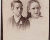 Lost Ancestors - Nellie and Thomas Dyas, Toronto, Ontario, Canada, CDV Photograph