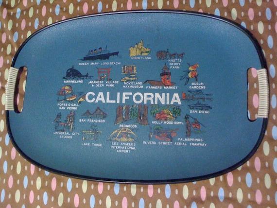 Retro California Serving Tray